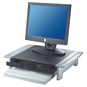 Suporte para monitor FELLOWES Office Suites com gaveta