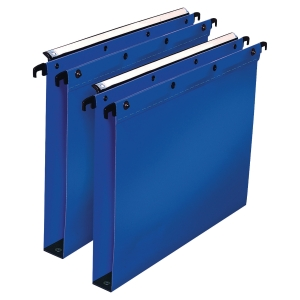 ELBA ULTIMATE BLUE A4 HEAVY DUTY PP SUSPENSION FILES 30MM BASE - BOX OF 10