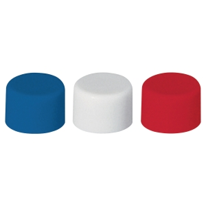 Lyreco magnets 10 mm, assorted colours, 20 pieces