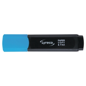 lyreco budget highlighters - blue