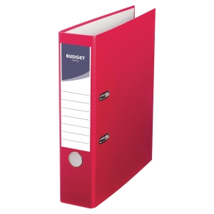 LYRECO BUDGET RED A4 LEVER ARCH FILE 75MM