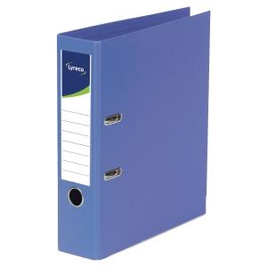 Arquivador de mola lyreco folio/45 azul