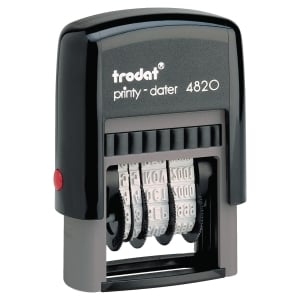 Sello fechador Trodat Printy-Dater 4820
