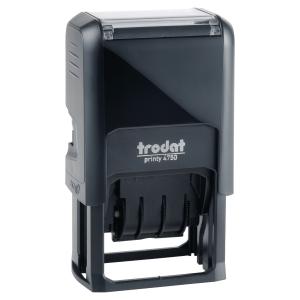 Fechador con placa de 4 bandas TRODAT Printy 4750/L2