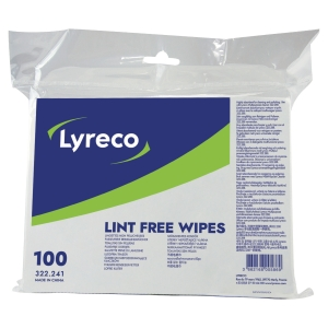 LYRECO CLOTH NON WOVEN PACK OF 100 SHEETS