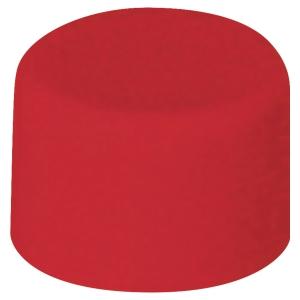 Magnety Lyreco červené Ø 10 mm, 20 ks