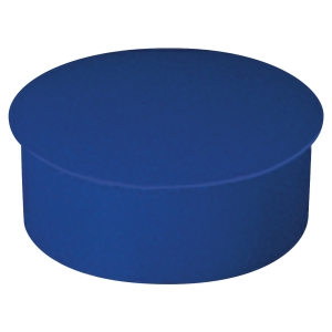 Lyreco round magnets 22mm blue - box of 10