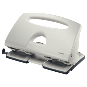 LEITZ EXTRA STRONG 4-HOLE PUNCH 5132 GREY