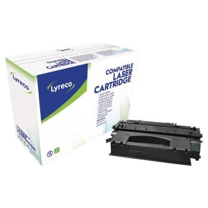 Toner laser LYRECO preto alta capacidade para HP 49X e CANON 708H