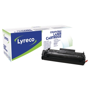 Toner laser LYRECO preto extra duração compatível com HP 12XXL LJ-1010/3030