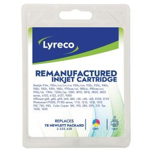 Lyreco compatibele HP C6578D inkjet cartridge nr.78 kleur [560 pagina s]