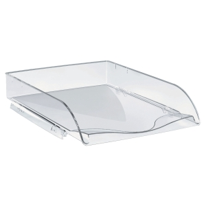 Lyreco Stackable Letter Tray Crystal