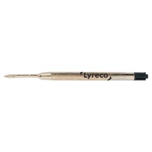 Refill Lyreco per penna a sfera Parker punta media inchiostro nero