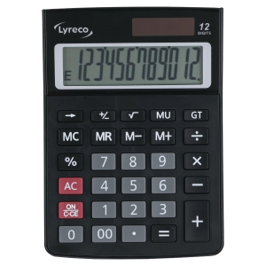 LYRECO DESK 10 DIGIT CALCULATOR