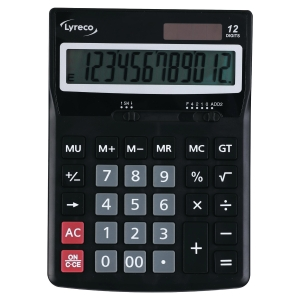 LYRECO PREMIER 12 DIGIT CALCULATOR