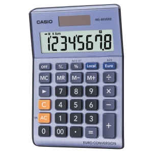 Calculadora de mesa CASIO MS-80VERII de 8 dígitos
