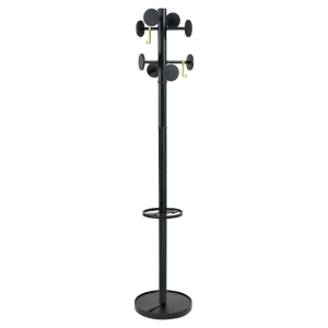 Alba Stan Hat Coat Stand 1750 mm Black