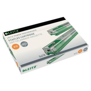 Hæfteklammer Leitz K10, grøn, til 5551, æske a 5 x 210 stk.