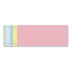 EXACOMPTA STRIP DIVIDERS 240 X 105MM 190G - PACK OF 100