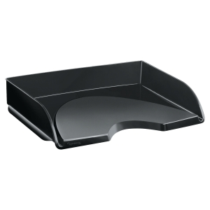 LYRECO LETTER TRAY WIDE ENTRY BLACK