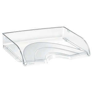 LYRECO LETTER TRAY WIDE ENTRY CRYSTAL