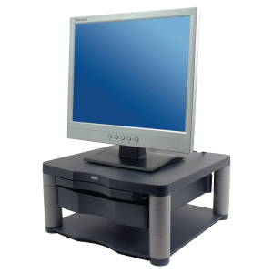 FELLOWES 91695 MONITOR RISER PLUS GRAPHITE