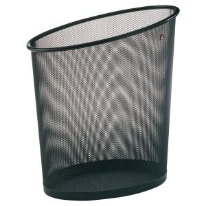 Papeleirametálica cor preta ALBAmesh  Dimensões: 355 x 240 x 390mm