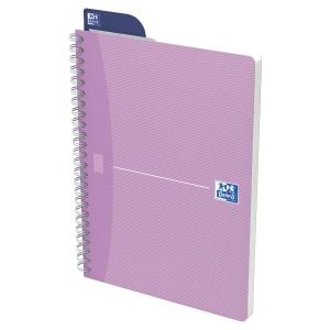 Notizheft Oxford Office Women Notebook A5, 5 mm kariert, 90 Blatt, assortiert