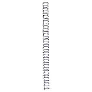 Pack de 100 argolas metalicos Wire Cor preta Diâm 6mm