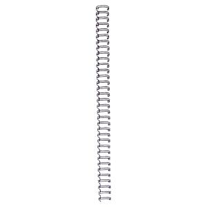Pack de 100 argolas metalicos Wire Cor preta Diâm 8mm