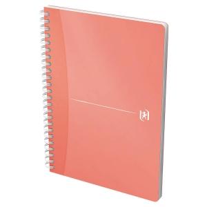 Cuaderno espiral 90 hojas formato A5, 90g/m2, colores surtidos