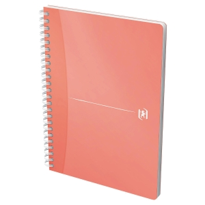 Caderno espiral 90 folhas formato A5, 90g/m2, cores surtidas