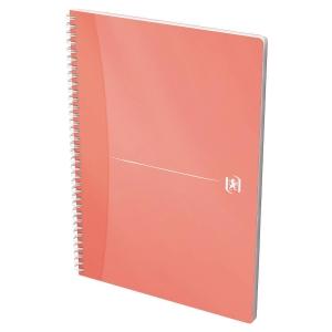 Caderno espiral 90 folhas formato A4, A4,quadricula 5mm, 90g/m2, cores surtidas