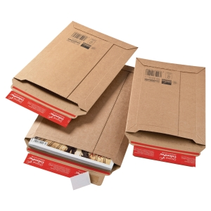 Colompac CP010.08 rigid corrugated cardboard envelope 340 x 500 x 50 mm