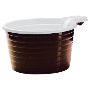 Paquet de 50 tasses  economy  18cl en plastique ps bicolore