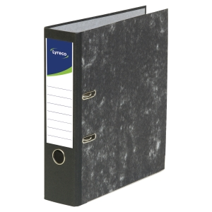 Lyreco Budget Lever Arch File A4 75mm Black Cloud