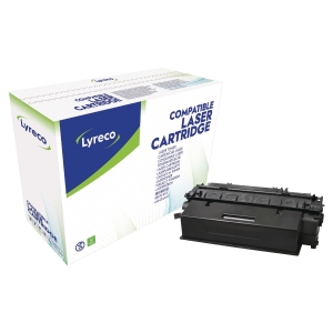 Toner laser LYRECO preto alta capacidade compativel com HP 53X LJ-P2014/2015