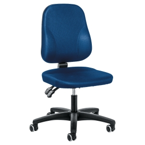 Siège de bureau Prosedia Baseline 0101 à contact permanent - bleu