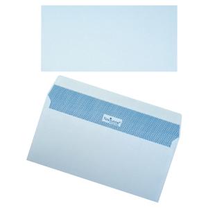 Navigator enveloppen met siliconenstrook 110x220mm 90g wit - doos van 500
