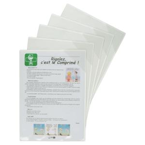 Busta magnetica T-view Tarifold A4 in PVC semirigido - conf. 5