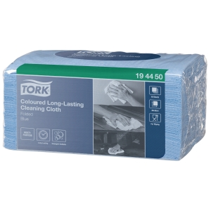 Tork Long Lasting work cloths blue - pack of 40