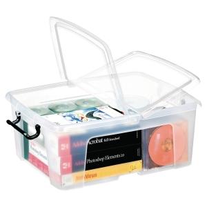 Caja de almacenaje con capacidad para 24 litros STRATA