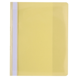 Exacompta 439904B Premium project file A4 PVC yellow - pack of 10