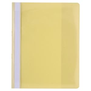 Exacompta 439904B Premium chemises de présentation A4 PVC jaunes - paquet de 10