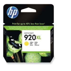 HP CD974AE cartouche jet d encre nr.920XL jaune Haute Capacité [700 pages]