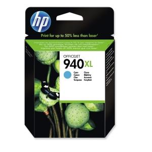 Tintenpatrone HP C4907AE - 940XL, Reichweite: 1.400 Seiten, cyan
