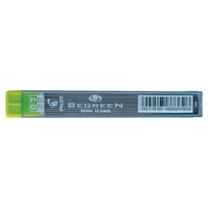 STIFT PILOT PPL BEGREEN 0,7 MM 2B 12 ST/ETUI