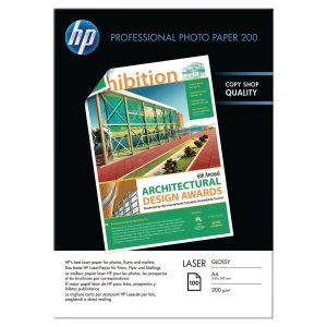 Papier photo laser A4 HP Professionnel - brillant - 200 g - 100 feuilles