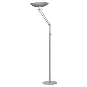 LAMPADAIRE FLUORESCENT VARIALUX UNILUX ARTICULE GRIS