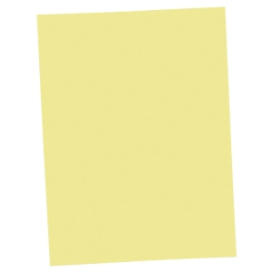 LYRECO SQUARE CUT FOLDER 250G 235MM X 315MM YELLOW PACK OF 100